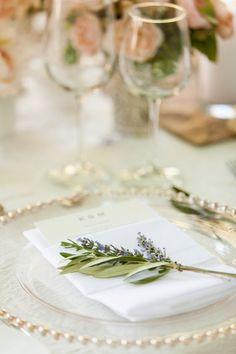 Blushing California Wedding from Elle Jae Photography - wedding reception idea