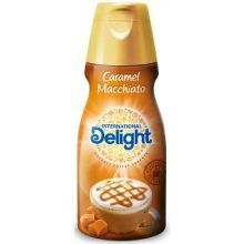 International Delight Caramel Macchiato Coffee Creamer 16 Fluid Ounce 6 per case. * Check this awesome product by going to the link at the image. (This is an affiliate link) Coffee Creamer, Caramel, Case Check, Amazon Website, Dairy, Advertising, Button, Link