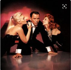 Kim Novak, Sinatra, Rita Hayworth