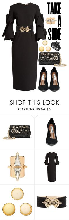 """Take a Side"" by cherieaustin ❤ liked on Polyvore featuring Dolce&Gabbana, Roksanda, Cire Trudon and Balmain"