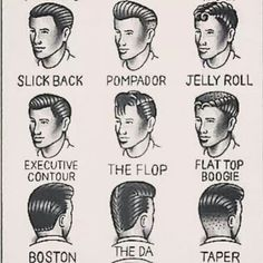 Rockabilly hairstyles for men sooo cute!