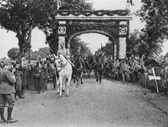 Chr. X på den hvide hest