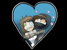 Creepypasta Ticci Toby & Clockwork They're in love ♡♥♡