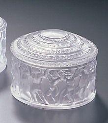Lalique Crystal Box