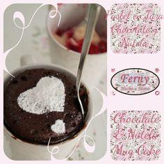 2016 Enero  Pastel en Taza / Chocolate y Nutela    Chocolate & Nutela / Mug Cake