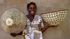 BASKET WEAVING IN ghana AFRICA | basket weaving