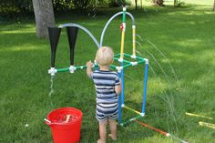 Connor's Tinker Sprinkler: The directions are published on Instructables.com. Check it out. He won Reserve Champion at the Dakota County Fair.