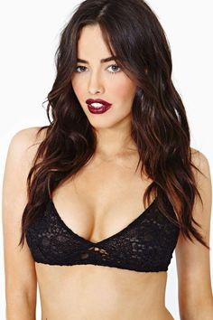Only Hearts Copper Lace Bralette at Nasty Gal