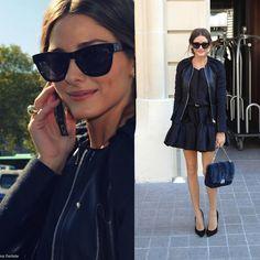 westward leaning sunglasses on Olivia Palermo