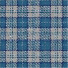 Tartan image: Menzies Dress Blue & White. Click on this image to see a more detailed version.
