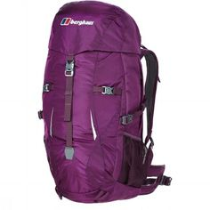 Get your Berghaus Womens Capacitor Rucksack (Purple/Dark Purple) at SportPursuit today. Camping Equipment, Outdoor Outfit, North Face Backpack, Dark Purple, Footwear, Backpacks, Bags, Stuff To Buy, Clothes