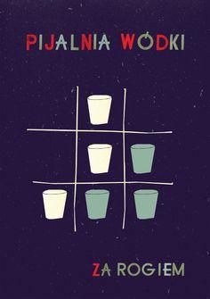 various posters II - Nina Gregier - proste kreski - graphic design & art direction