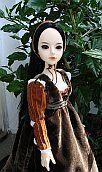 Juliet  -  Italian renaissance dress for MSD BJD