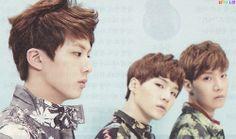 Jin & Suga & J-Hope BTS for High Cut Magazine