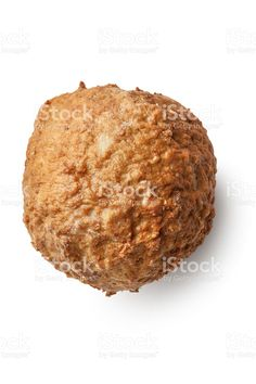 Meat: Meatball Isolated on White Background royalty-free stock photo