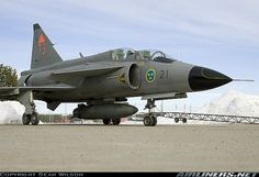 Saab SK37E Viggen aircraft picture