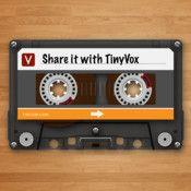 TINYVOX PRO Audio Messenger/Notebook/Transmitter