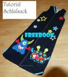 Total einfaches und toll erklärtes freebook für einen Kinderschlafsack - unbedingt runter laden ;-)