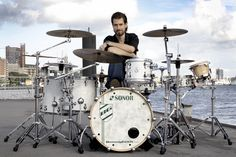 Benny Greb with set ! Modern Drummer, How To Play Drums, Snare Drum, Drum Kits, Drummers, Percussion, I Love Music, So Little Time