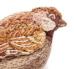 Sparrow Small Fabric Bird by Catherine Frere-Smith