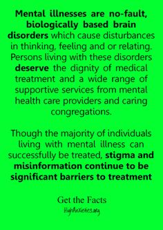 Increase mental health awareness. Stigma and misinformation continue to be significant barriers to treatment.