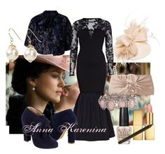 Anna Karenina #9 Horse Races by marijephotogirl on Polyvore featuring mode, River Island, Warehouse, Anna Sui, Cole Haan, Kokin, AERIN and NYX
