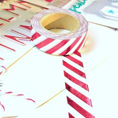 Don't you just LOVE this gorgeous red foil washi tape?  It's available in our Hip Kit Club December Documented Kits!  they just began shipping this week.  Be sure to order yours before it's too late.   @hipkitclub #hipkitclub #hipkit #decemberdaily #decembersocumented #hkcexclusiveproducts @shopfreckledfawn #washitape #christmas #holidays #winter #projectlife #scrapbook #scrapbooking #scrapbookkitclub #kitclubs