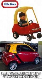 funny smart car