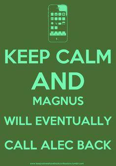 The Mortal Instruments #Magnus #Alec