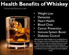 Health Benefits of Whiskey - positiveDrugs Whiskey Drinks, Cigars And Whiskey, Scotch Whiskey, Irish Whiskey, Bourbon Whiskey, Cocktail Drinks, Alcoholic Drinks, Cocktails, Beverages