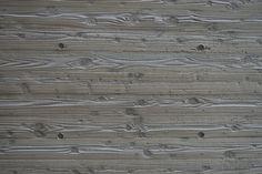 Concrete wall molded into cedar planks