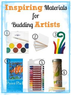 Inspiring Materials for Budding Artists