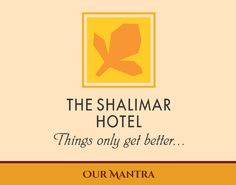 The Shalimar Hotel's logo epitomizes the essence of progression, optimism and faith. It mirrors 52 years of trustworthy hospitality. Visit us to experience it all.