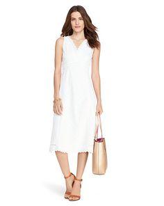 Lauren - Cotton Eyelet Dress