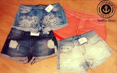 Oferta especial do #AniversarioContainer Shorts jeans de 39,99 e 49,99 #Vemprocontainer #Containeroutlet