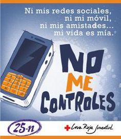 No me controles: campaña contra la violencia de género