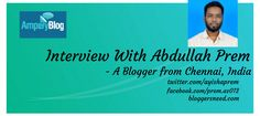 Interview With Abdullah Prem How To Introduce Yourself, Get Started, Promotion, How To Make Money, Interview, Articles, Social Media, Content, Messages