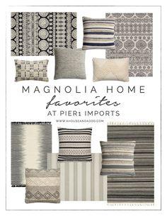 Magnolia Home Rugs + Pillows