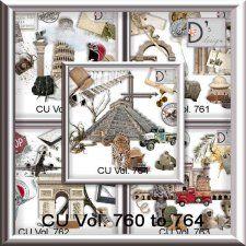Vol. 760 to 764 - Travel-World by Doudou's Design  cudigitals.com cu commercial scrap scrapbook digital graphics#digitalscrapbooking #photoshop #digiscrap