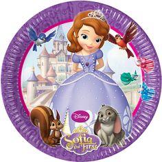 Thème d'anniversaire Princesse Sofia - Annikids