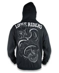 Loose Riders Jacke/Hoodie Snake Tattoo,Biker,Oldschool,Rockabilly,Custom Styles