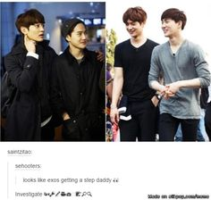 """suho is moving on 