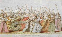 Women's March on Versailles Jacques-Louis David