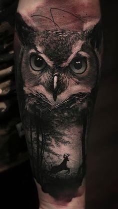 Thomas Carli Jarlier Wolf Tattoos, Native Tattoos, Forarm Tattoos, Tribal Arm Tattoos, Animal Tattoos, Jäger Tattoo, Owl Eye Tattoo, Rabe Tattoo, Grey Tattoo