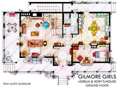 gilmore girls house plans | Gilmore Girls News and Random Facts