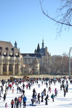 Balkan style by M.: Travel post - Budapest - Heroes' Square