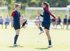 Kansas City, KS - July The USWNT trains for the Tournament of Nations at the National Development Center. Female Soccer Players, Tobin Heath, International Football, Sports Images, One Team, New Kids, American Women, Football Team, Role Models