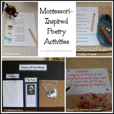 Montessori-Inspired Poetry Activities by Deb Chitwood, via Flickr
