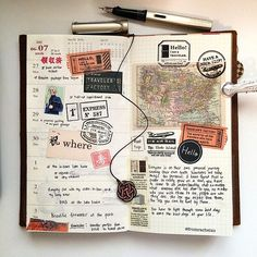 Feeling uninspired this week. Throwback to one of my favourite journal page…