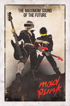 Daft Punk: MAD PUNK